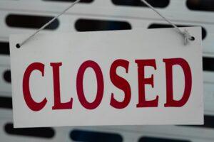 Wederom stijging faillissementen in derde kwartaal 2012