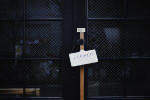 Aantal faillissementen in 2012 stijgt met 20 procent