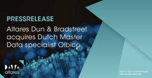 Altares Dun & Bradstreet strengthens market position with acquisition of master data specialist Olbico