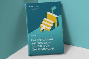 Mockup Cover- Het overwinnen van innovatie obstakels als Credit Manager
