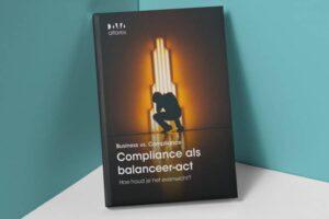 Compliance als balanceer act