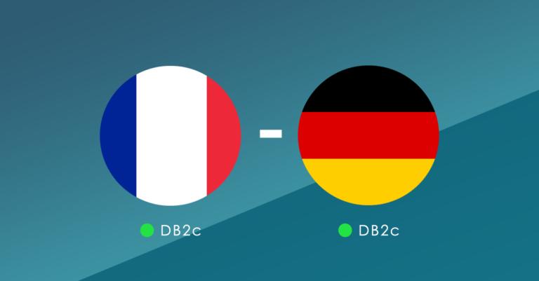 Frankrijk vs. Duitsland- wat zeggen de cijfers