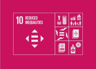 Visual ESG Reduced Inequality